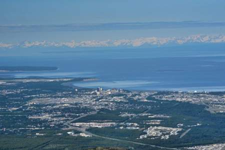 Views of Anchorage & Cook Inlet