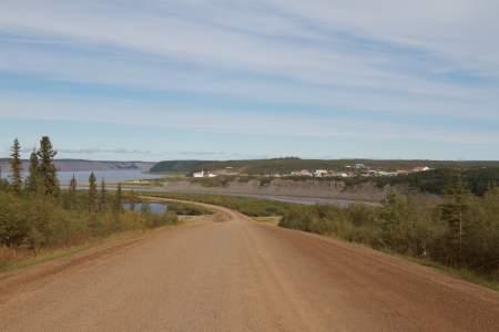 Mackenzie River Crossing and Tsiigehtchic