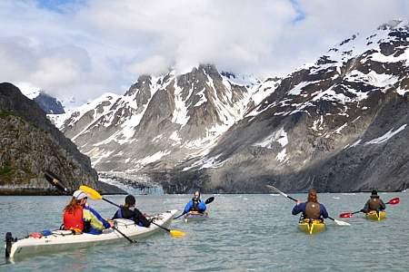 Alaska Mountain Guides Sea Kayaking