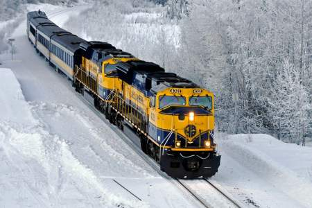 Aurora Winter Train