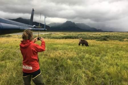 Alaska Ultimate Safaris Helicopter Bear Viewing