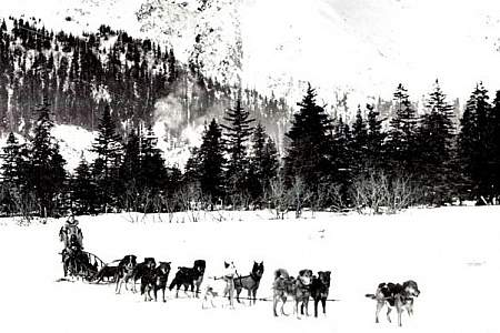 Historic Iditarod Trail and Monument