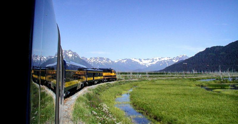 Coastal Classic Railroad Train From Anchorage To Seward Alaska Org