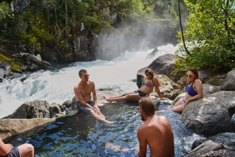 Itineraries are custom, escape to little known hot springs