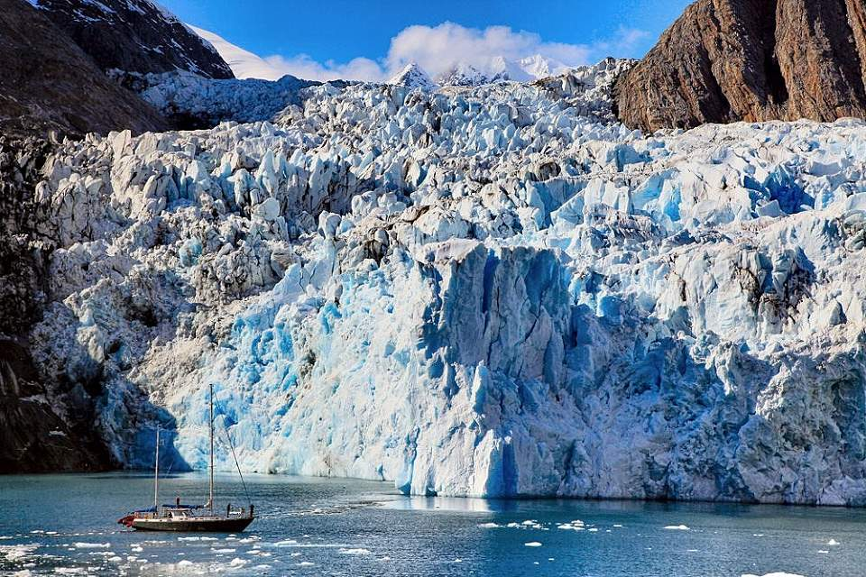 Sail to tidewater glaciers, away from the cruise ship crowds