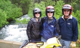 Girdwood 1st Bridge alaska atv adventures