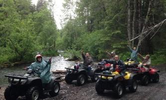 Girdwood Cant find the bear alaska atv adventures