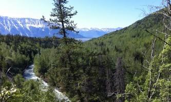 Girdwood overlook view alaska atv adventures