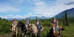 Alaska By Air: Horseback Riding