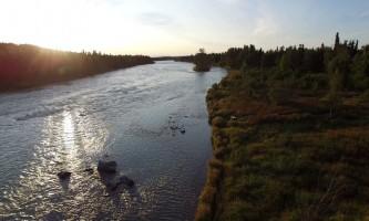 Alaska downriver2 Alaska Fishing with Mark Glassmaker