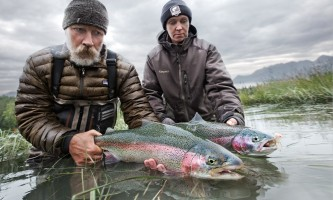 Alaska Rainbows Alaska Fishing with Mark Glassmaker