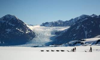 Alaska helicopter tours dog sledding C Jeff Schultz Schultz Photo com 3