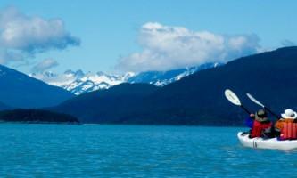 Alaska mountain guides sea kayaking FIP22019