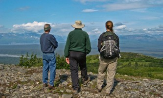 Alaska Nature Guides Wilderness Hike 12019