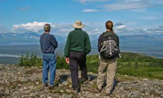 Alaska Nature Guides Wilderness Hike 12019