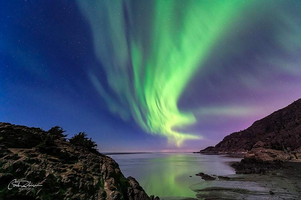 Alaska Photo Treks offers a variety of locations that are optimal for aurora viewing