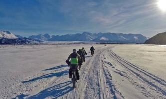 Alaska trail guides Knik Valley