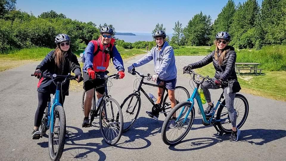 Bike the Tony Knowles Coastal Trail in Anchorage