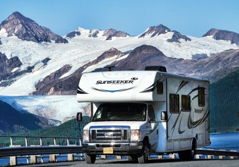 Cruise through the Inside Passage, pick up your RV, and explore Alaska at your own pace