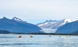 Glacier view sea kayaking Kayak5 Alaska Travel Adventures