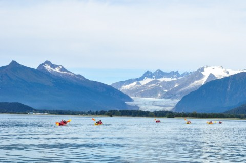 Paddle with views of the Mendenhall Glacier