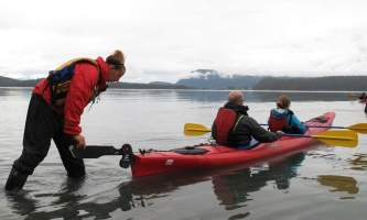 Glacier view sea kayaking Glacier Sea Kayaking4 Alaska Travel Adventures