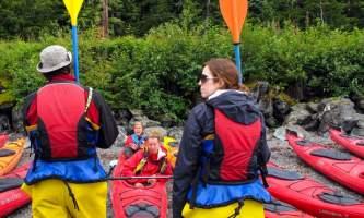 Glacier view sea kayaking Kayak1 Alaska Travel Adventures