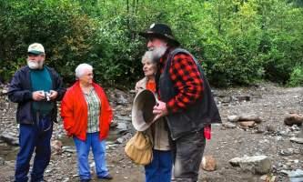 Historic gold mining panning adventure goldpanning4 Alaska Travel Adventures