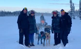 Liz Failor Family on Tour alaska alaskan husky adventures
