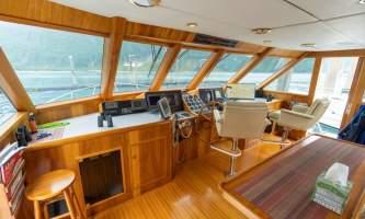 Alaskan luxury cruises Bridge