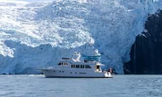 Alaskan luxury cruises Seamistsideglacierwide