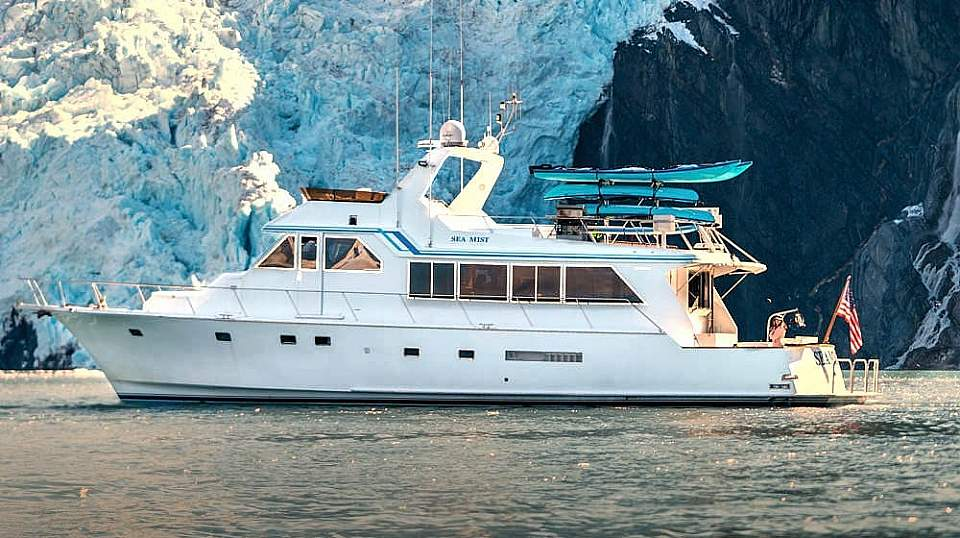 All itineraries are custom. Cruise to tidewater glaciers, kayak, look for wildlife, and more