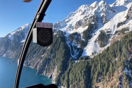 Alpine air dog sledding Alpine Air Flightseeing Seward 12019
