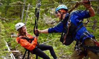 Alaska alpine zipline adventures juneau DSC 1324 alaska zipline adventures