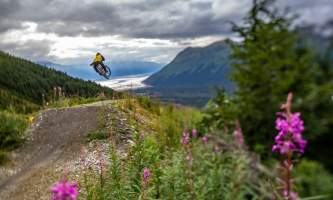 RKP The A Team2018 10 alaska hotel alyeska girdwood resort summer mountain biking hiking trails