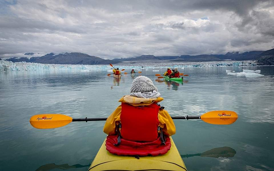 Sea Kayaking with Anadyr Adventures