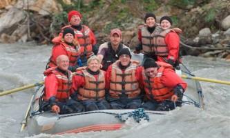 Explore denali rafting Group Rafting Rafing at Denali Park Village