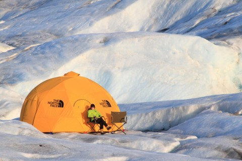 Ascending Path offers the ultimate glacier overnight camping adventure
