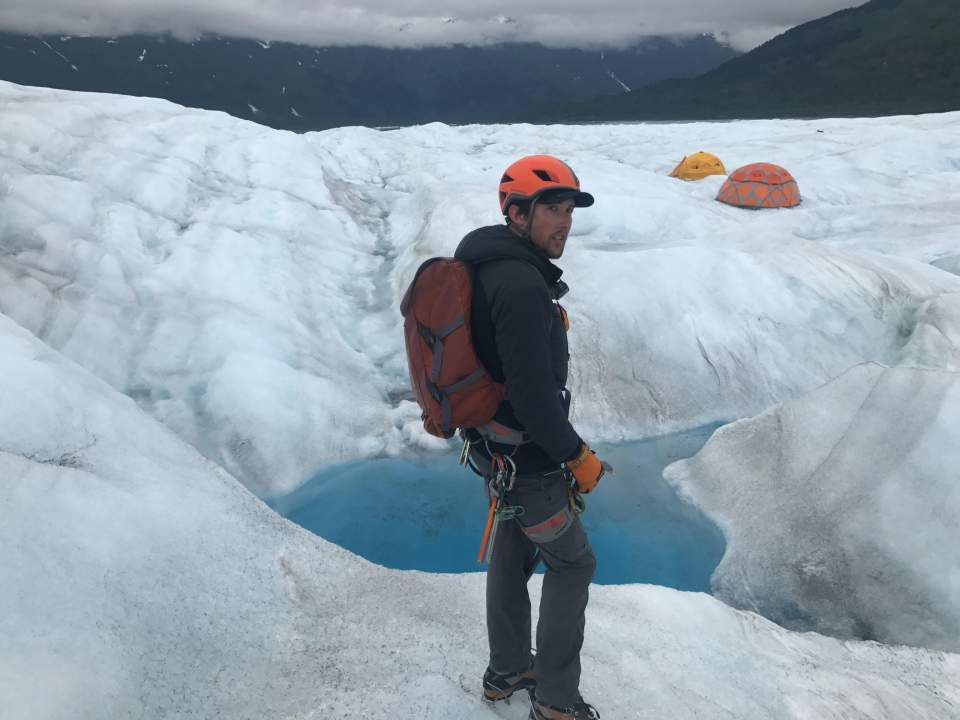 Explore the glacier at your group's pace with Ascending Path