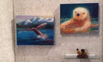 Alaska otter Aurora Fine Art Gallery