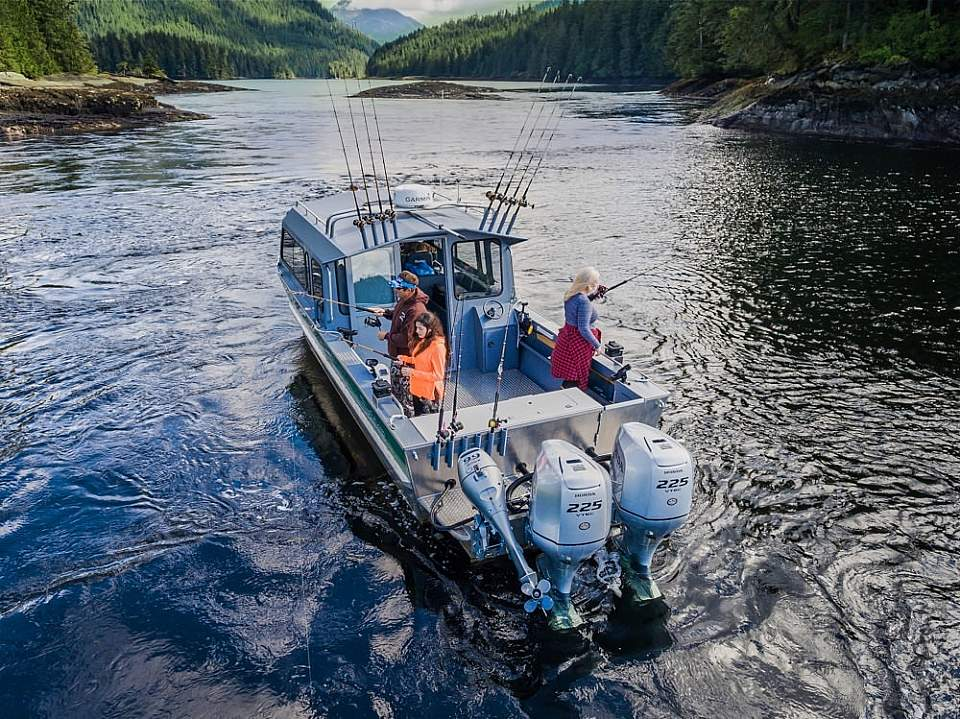 Fish for halibut, salmon, rockfish, and more on a guided fishing charter from Ketchikan