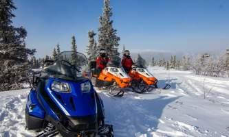 Snowmachine 0269 alaska borealis basecamp fairbanks