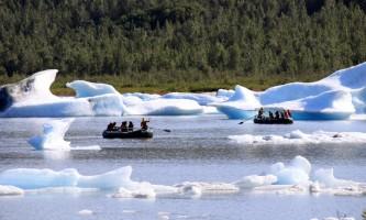 Spencer Glacier Float Spencer Glacier Iceberg Rafting Float PC Corey Anderson2019
