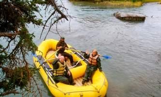 Copper River Guides Rafting 2021 Brandon Thompson P8161587