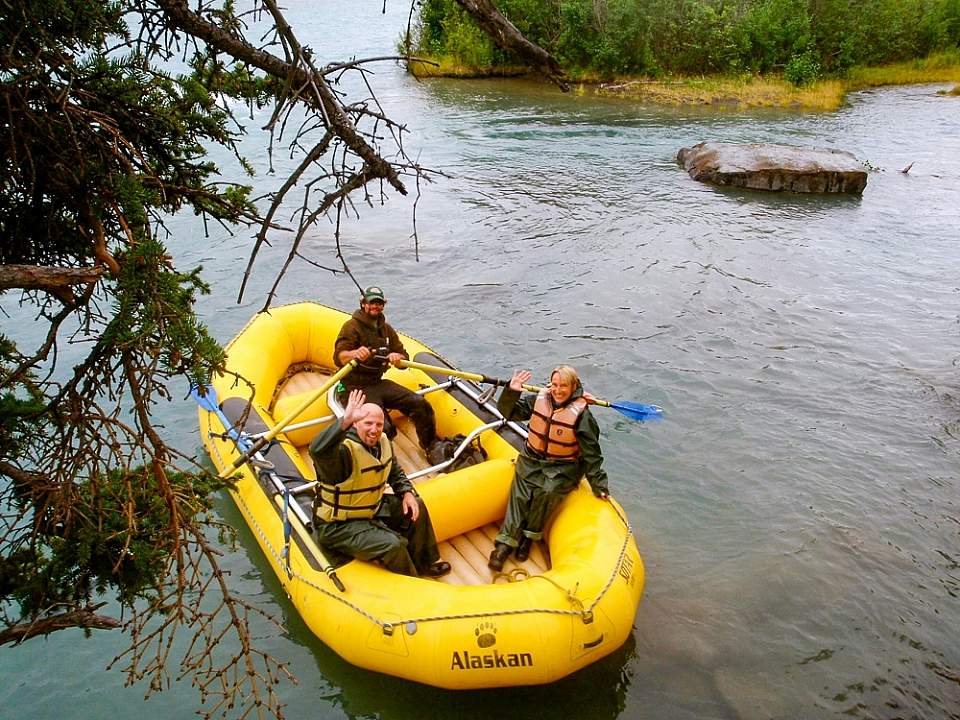 Appreciate the remote wilderness as you enjoy a relaxing day on the water on a scenic float trip