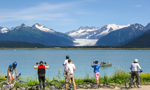 All tours include impressive views of the mighty Mendenhall Glacier