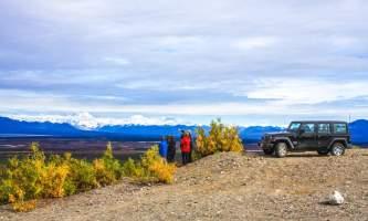 Denali Highway Jeep Excursion overlook2019