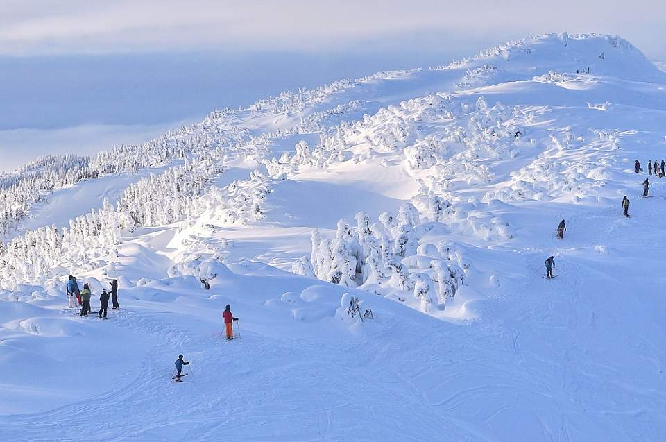 Eaglecrest is easy to reach: It's just a 1.5-hour flight from Anchorage, and 25 minutes from the Juneau airport.