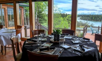 Great alaska adventure bucket list trip Lodge Dinner