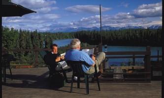 Great Alaska Adventure Lodge deckrelax2019